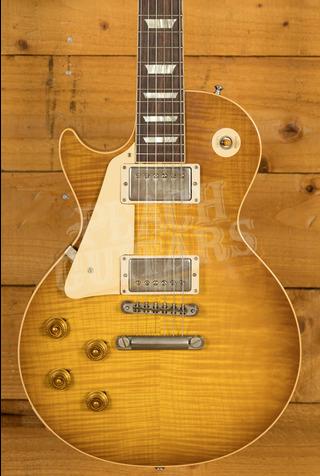 Gibson Custom HP Top '58 Les Paul Standard Lemon Burst VOS NH Left Handed