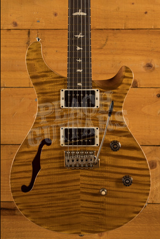 PRS CE24 Semi Hollow Amber