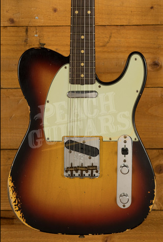 Fender Custom Shop '60 Tele Relic 3 Tone Sunburst