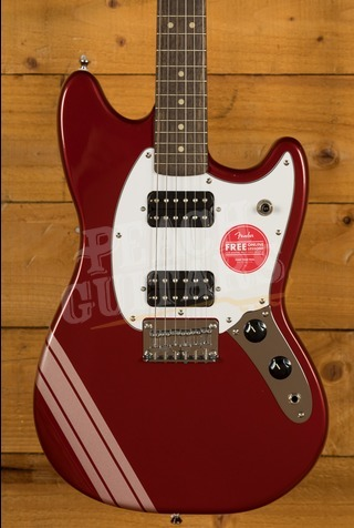 Squier Bullet Mustang Competition Red
