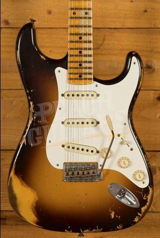Fender Custom Shop 2020 LTD '59 Strat Heavy Relic Chocolate over 2TSB