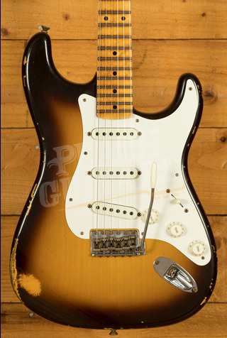Fender Custom Shop Limited Tomatillo Strat III Relic Faded Aged Chocolate 2TSB