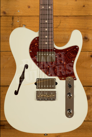 Suhr Alt T Dealer Select - Olympic White w/Roasted Maple/RW