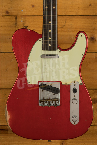 Fender Custom Shop '60 Tele Relic Candy Apple Red