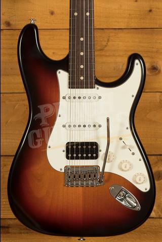 Suhr Classic S Antique HSS 3 Tone Burst Rosewood