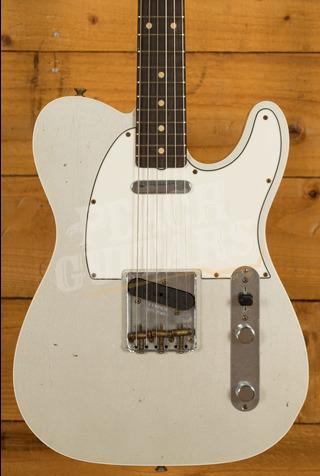 Fender Custom Shop '62 Tele Custom Journeyman Relic Inca Silver