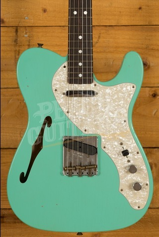 Fender Custom Shop 2020 LTD '60s Tele Thinline Aged Sea Foam Green