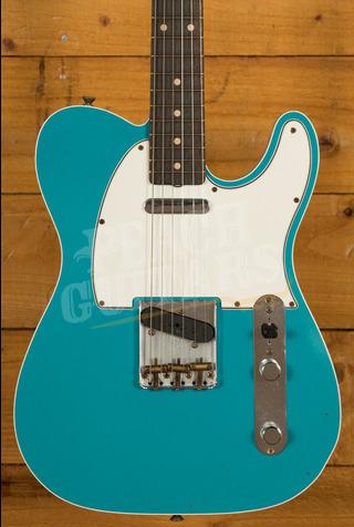 Fender Custom Shop '62 Tele Custom Journeyman Relic Taos Turquoise