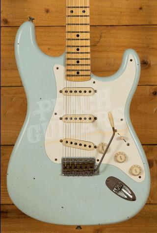 Fender Custom Shop '57 Strat Journeyman Relic Sonic Blue
