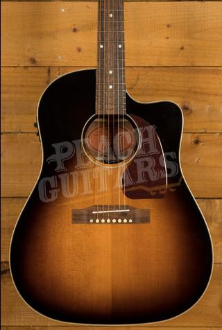 "Epiphone ""Inspired by Gibson"" J-45 EC Aged Vintage Sunburst Gloss"