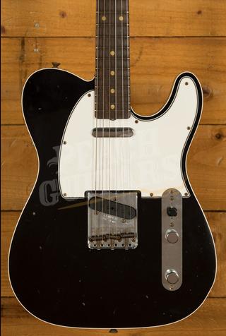 Fender Custom Shop '62 Tele Custom Journeyman Relic Black