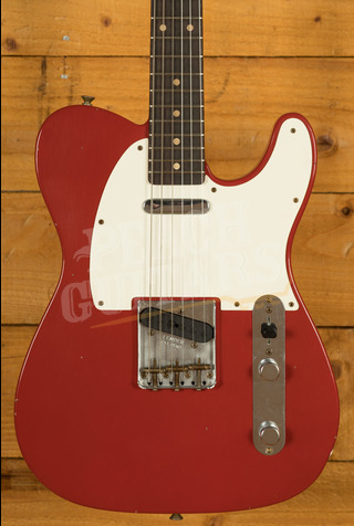 Fender Custom Shop '59 Tele Journeyman Relic Aged Dakota Red