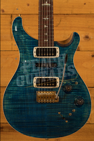 PRS Experience Modern Eagle V - 10 Top River Blue - Pattern Neck