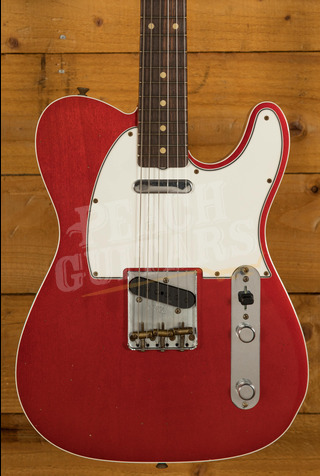 Fender Custom Shop '62 Tele Custom Journeyman Relic Candy Apple Red