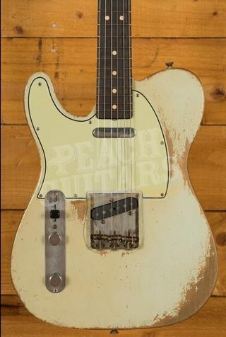 Fender Custom Shop '63 Tele Left Handed Sonic Blue Dale Wilson