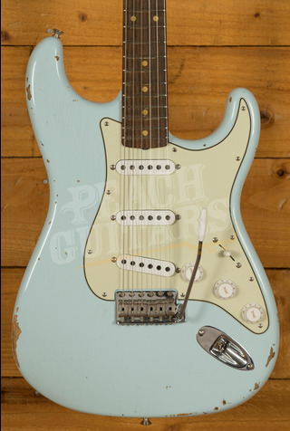 Fender Custom Shop '59 Strat Relic/CC Hardware Sonic Blue