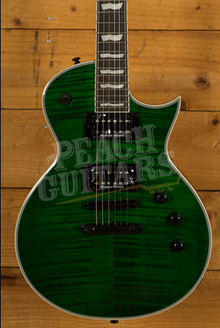 ESP LTD EC-1000 FM See-Thru Green