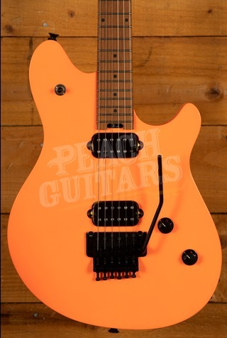 EVH Wolfgang Standard Baked Maple Fingerboard Neon Orange