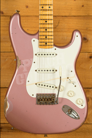 Fender Custom Shop Limited Tomatillo Strat III Relic Faded Aged Champagne Metallic
