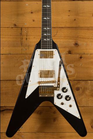 Gibson Custom Jimi Hendrix 69 Flying V Ebony Aged GH