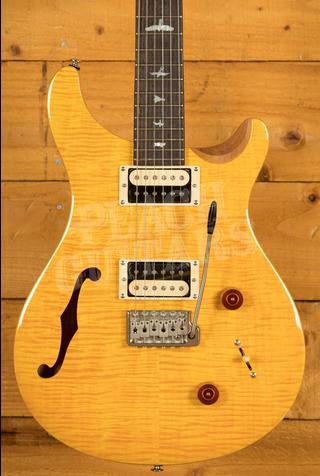 PRS SE Custom 22 Semi-Hollow - Santana Yellow