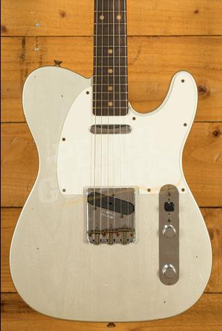 Fender Custom Shop Limited '60 Tele Journeyman Relic Aged Inca Silver