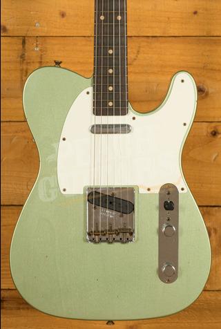 Fender Custom Shop Limited '60 Tele Journeyman Aged Sage Green Metallic