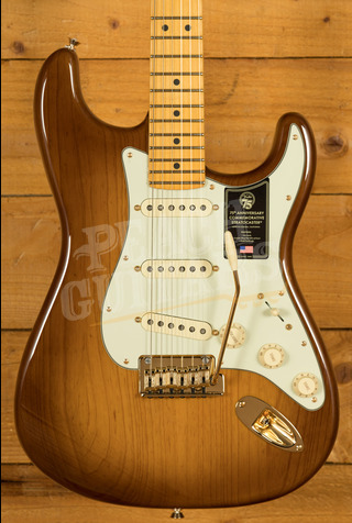 Fender 75th Anniversary Commemorative Strat 2-Colour Bourbon Burst