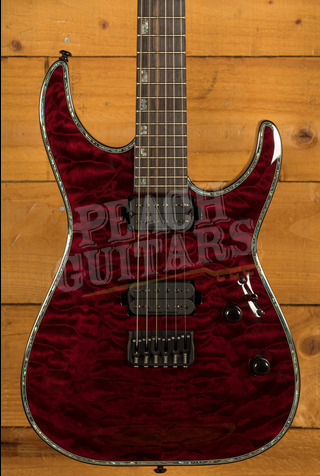 ESP LTD H-1001 QM See Thru Black Cherry