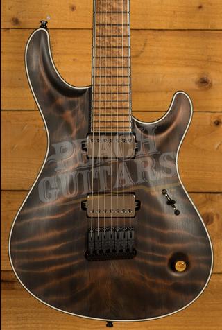 Mayones Regius Core 7 Baritone Curly Redwood - NAMM 2021 Display Guitar