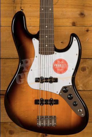 Squier Affinity Jazz Bass Laurel Brown Sunburst