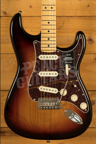 Fender American Professional II Stratocaster 3-Color Sunburst Maple