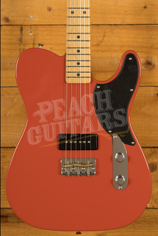 Fender Noventa Tele Maple Fiesta Red