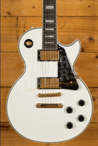 Epiphone Les Paul Custom Alpine White