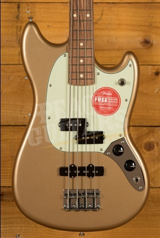 Fender Player Series Mustang Bass Fire Mist Gold