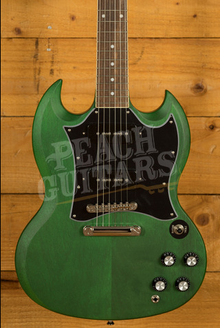 Epiphone SG Classic Worn P90's Inverness Green