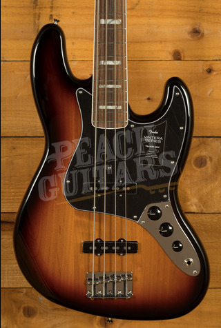 Fender Vintera 70s Jazz Bass Pau Ferro 3 Tone Sunburst