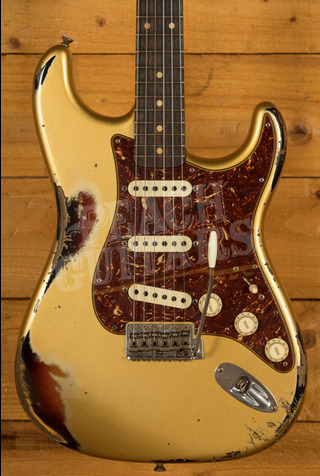 Fender Custom Shop NAMM 2020 LTD Roasted Poblano Strat Aztec Gold