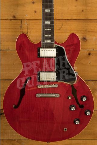 "Gibson Memphis 1963 ""Block"" ES-335 Sixties Cherry 2014 Used"