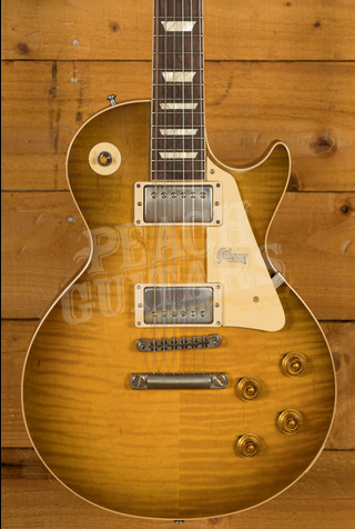 Gibson Custom 60th Anniversary '59 Les Paul Golden Poppy Burst VOS NH