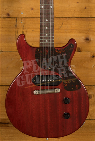 Gibson 1958 Les Paul Junior Double Cut Reissue VOS Faded Cherry