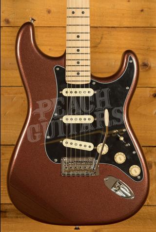 Fender Deluxe Roadhouse Strat Maple Neck Classic Copper