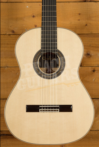 Cordoba 45 LTD European Spruce Top Black & White Ebony