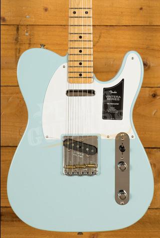 Fender Vintera 50s Tele Maple Neck Sonic Blue