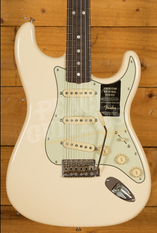 Fender American Original '60s Strat - Rosewood Board, Olympic White