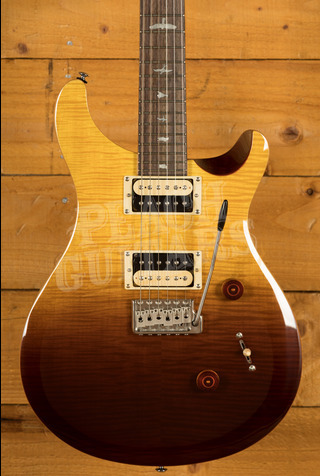 PRS SE Ltd Edition Custom 24 Amber Fade