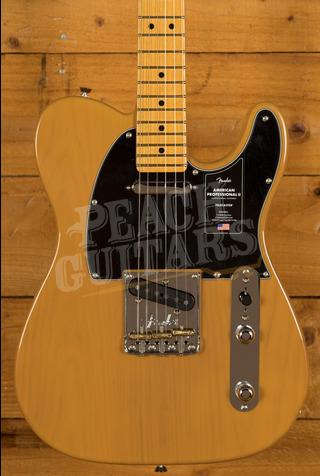 Fender American Professional II Telecaster Butterscotch Blonde Maple
