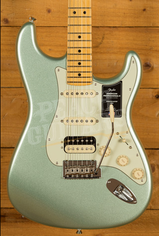Fender American Professional II Stratocaster HSS Mystic Surf Green Maple