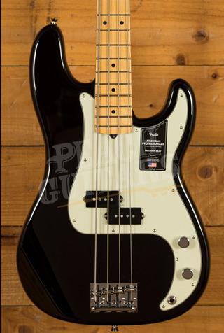Fender American Professional II Precision Bass Black Maple