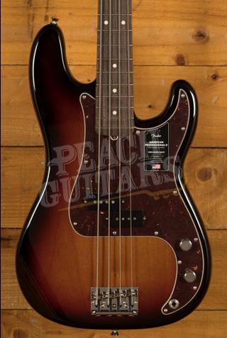 Fender American Professional II Precision Bass 3-Color Sunburst Rosewood